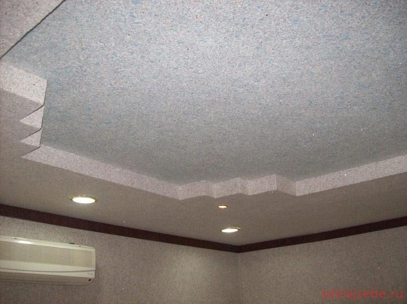 Гибсокартоновый потолок