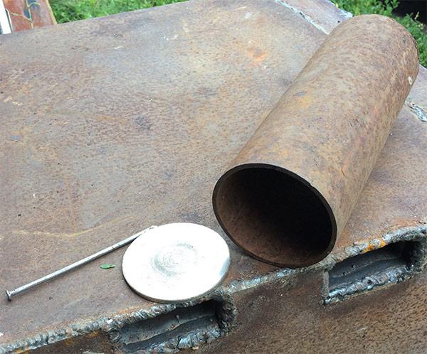 Самодельная заслонка для подсоса воздуха и регулировки подачи воздуха.