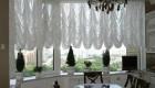 Французские шторы дома