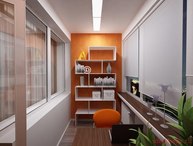 балкон дизайн интерьера