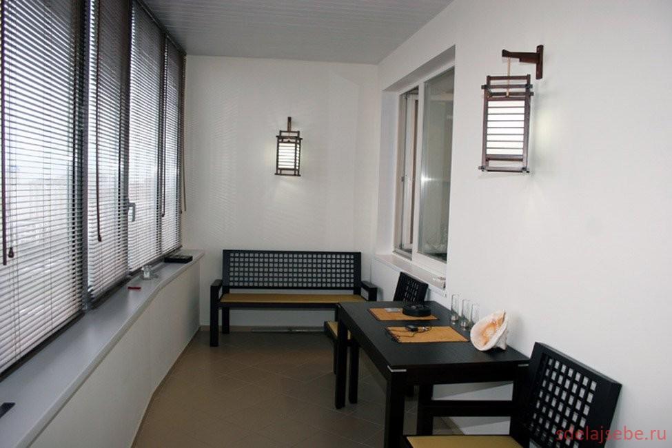 Виды интерьера балкона сделай себе.