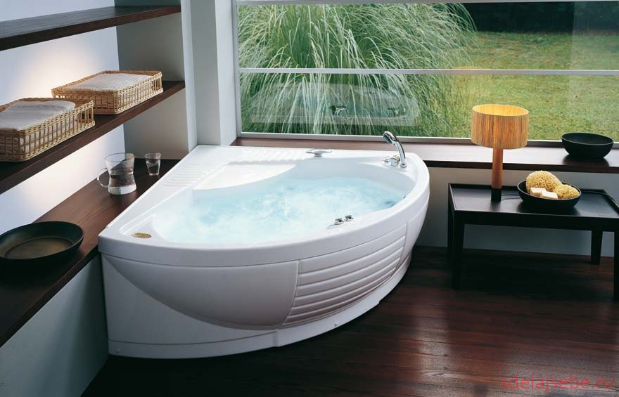 футуристическая ванна