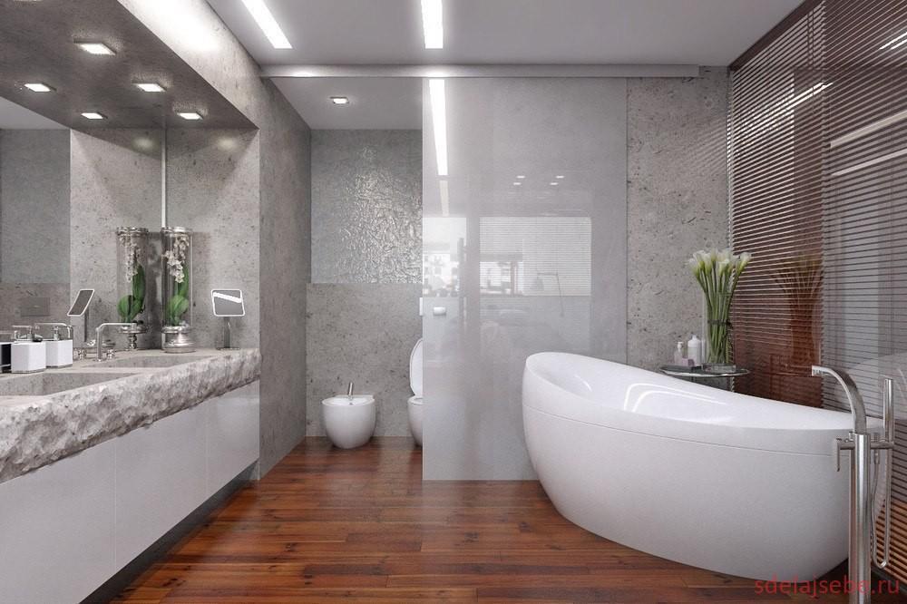 оформление ванны