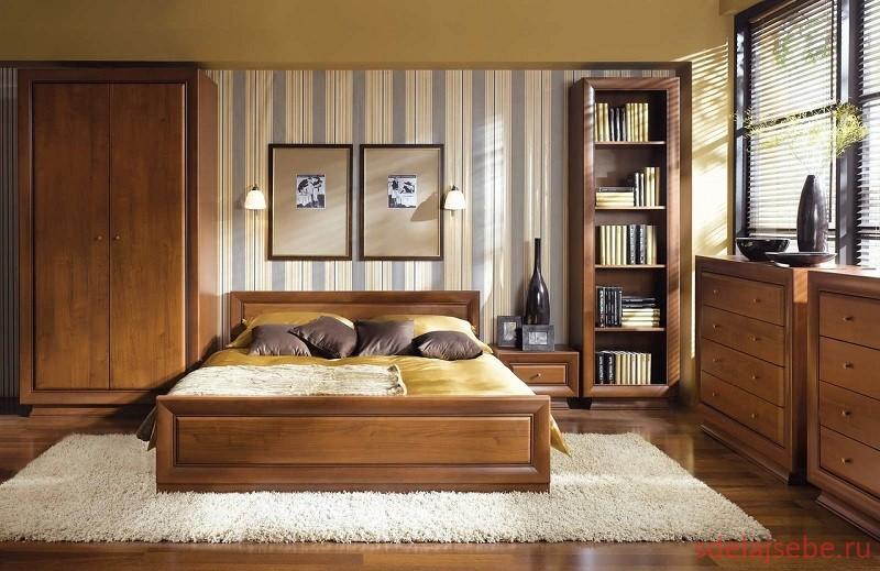 спальня в стиле минимолизм