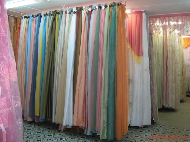 ткань для штор примеры