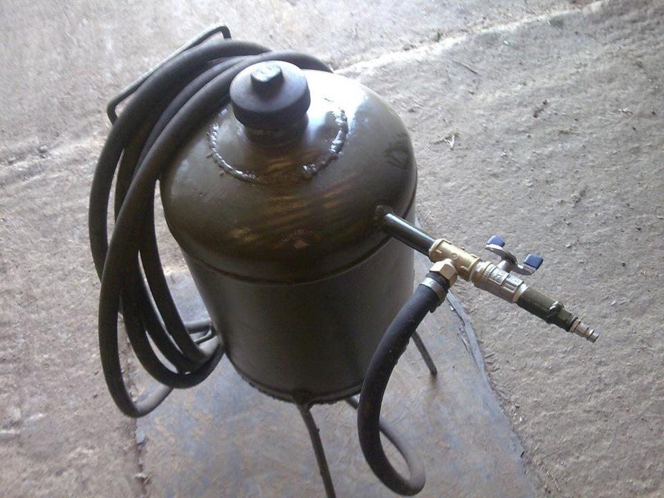 Пескоструйный аппарат в гараж