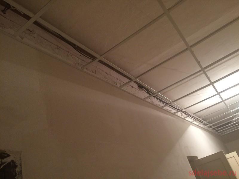 подвесной потолок амстронг