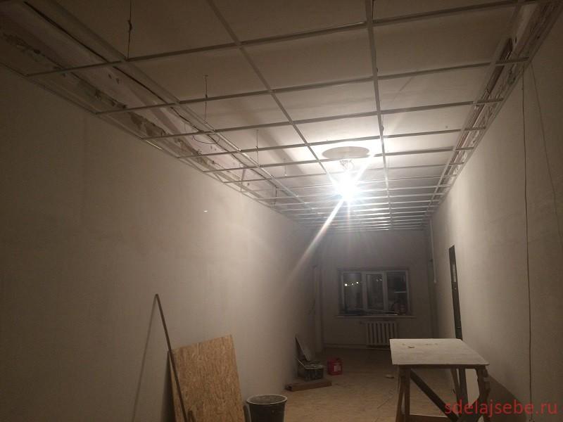 подвесной потолок армстронг монтаж