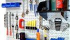 перфорированная панель для инструмента в мастерскую своими руками