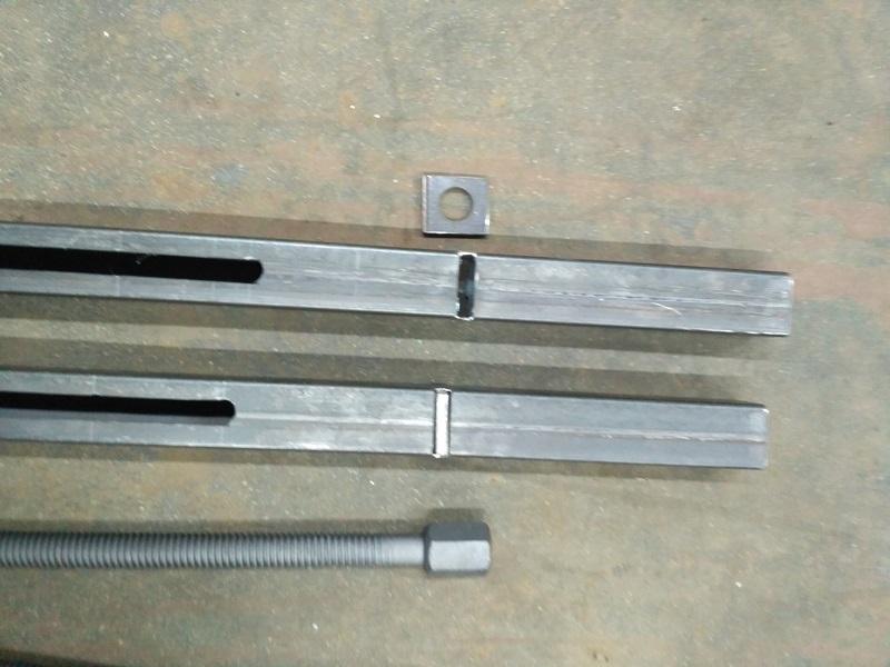 Изготовление мобильного верстака из профильной трубы 40х20