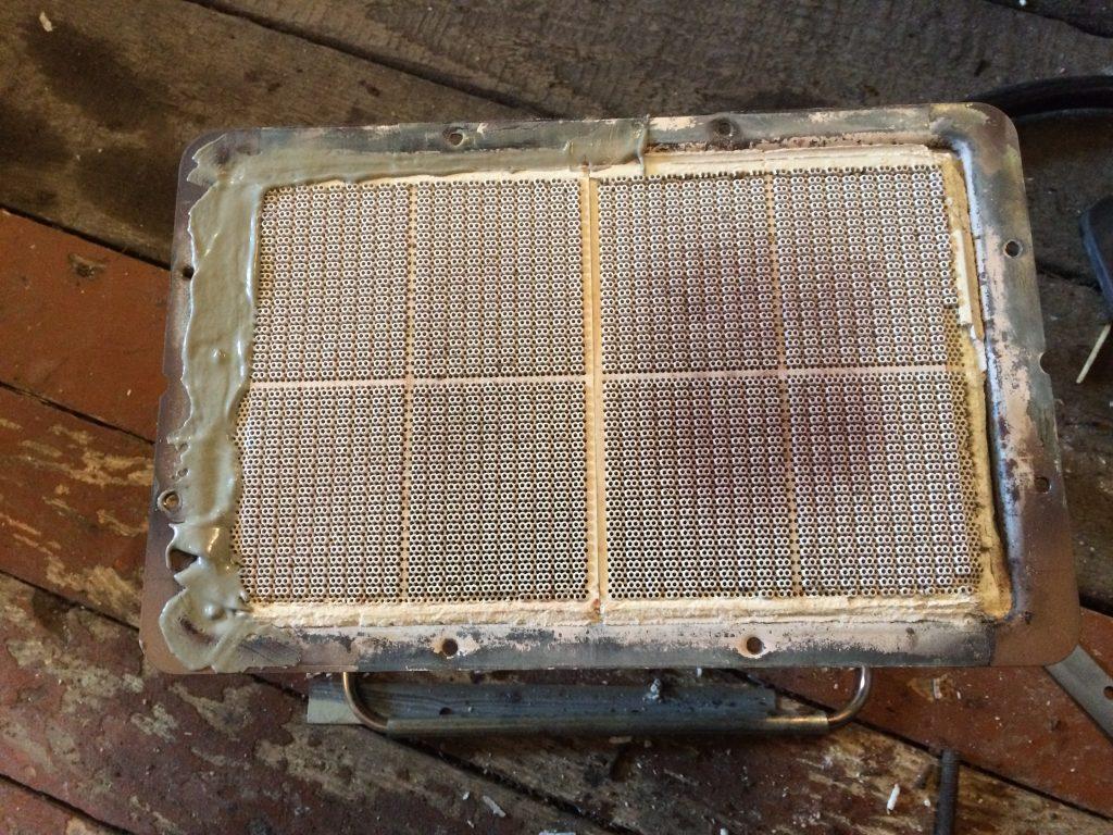 газовый горелка ремонт