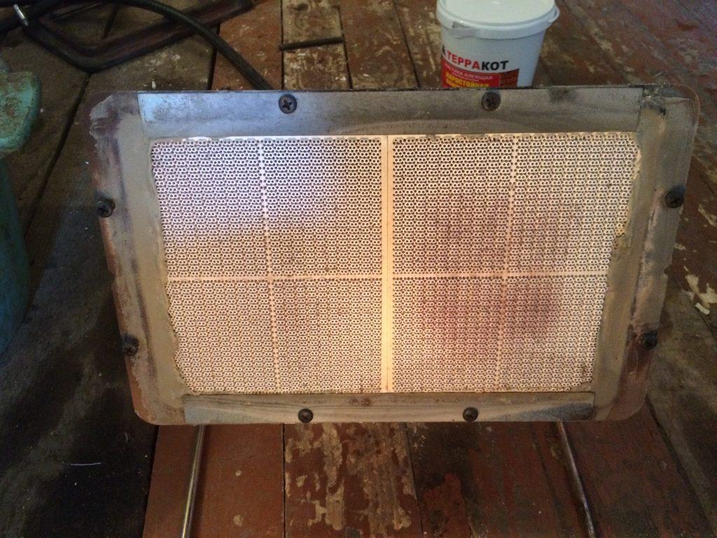 ремонт инфракрасной горелки