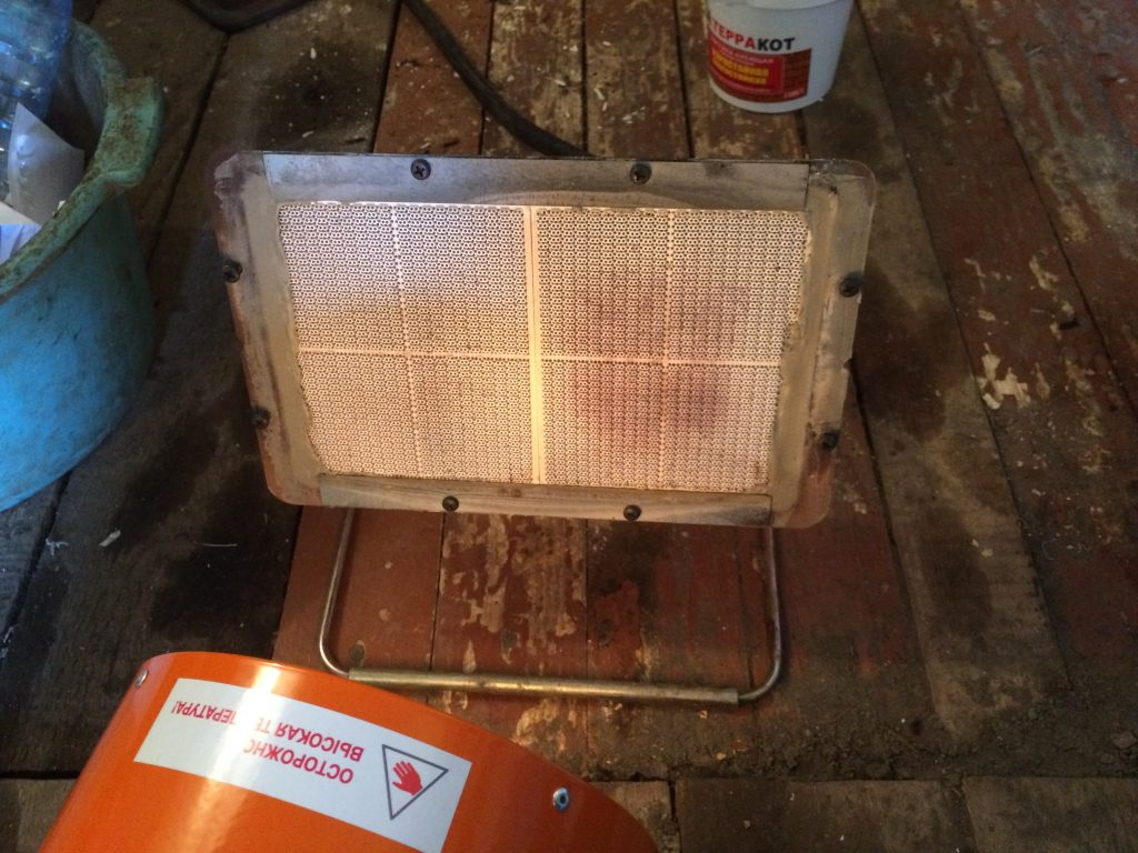ремонт инфракрасной керамической горелки