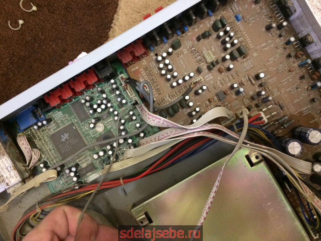 usb в старый кассетный магнитофон