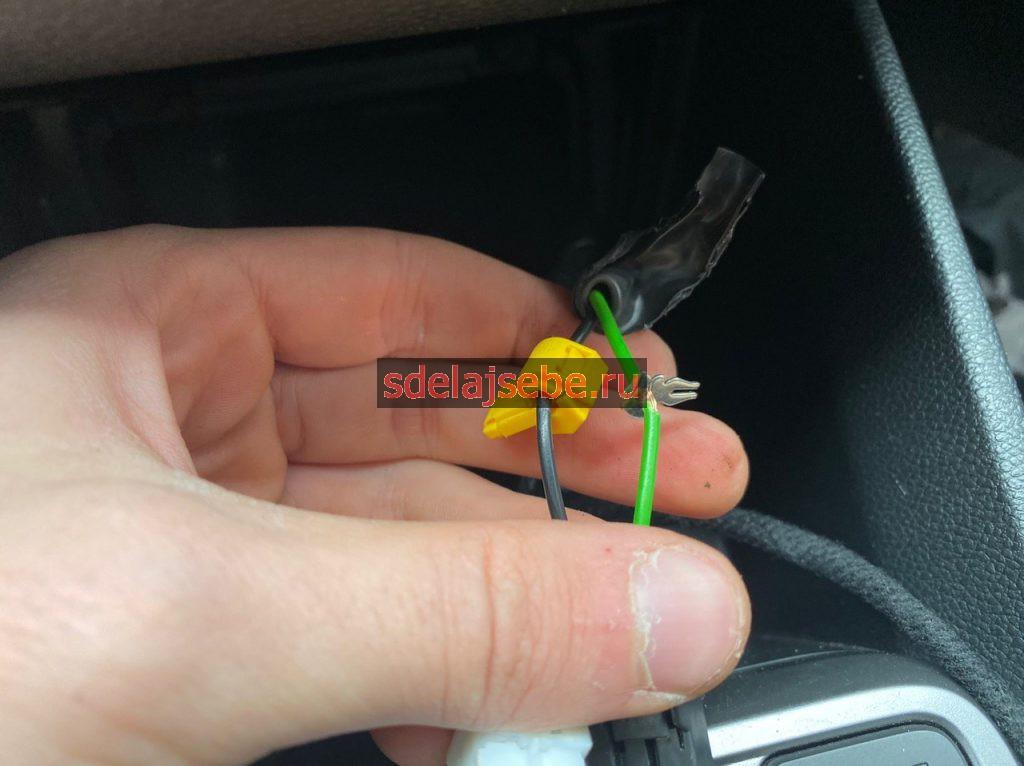установка беспроводной зарядки в крету