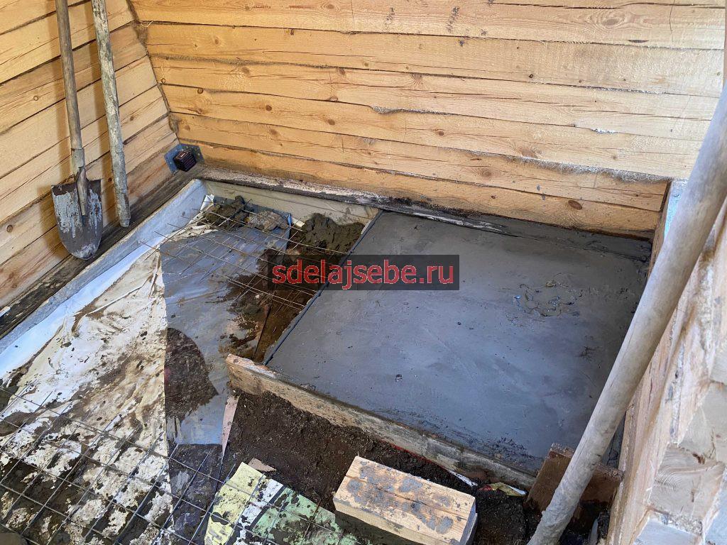 фундамент под печь скала порте для бани